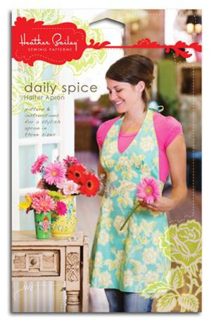 DAILY SPICE HALTER APRON