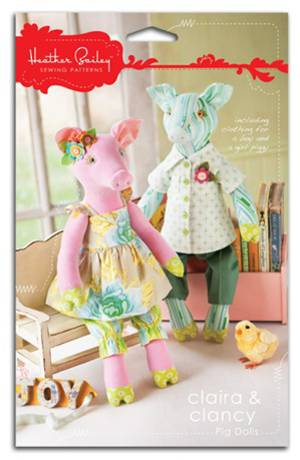 CLAIRA & CLANCY PIG DOLLS