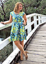 Sweet Summertime Dress/Peplum