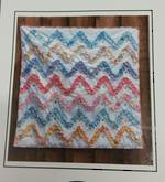 Ruffled Chevron Quilt