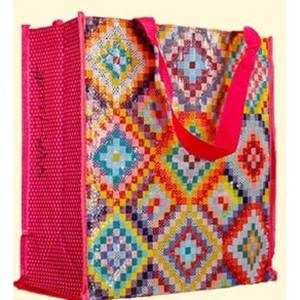 KAFFE BRIGHT SQUARES BAG